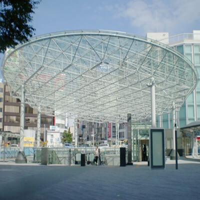 静冈公交总站北口